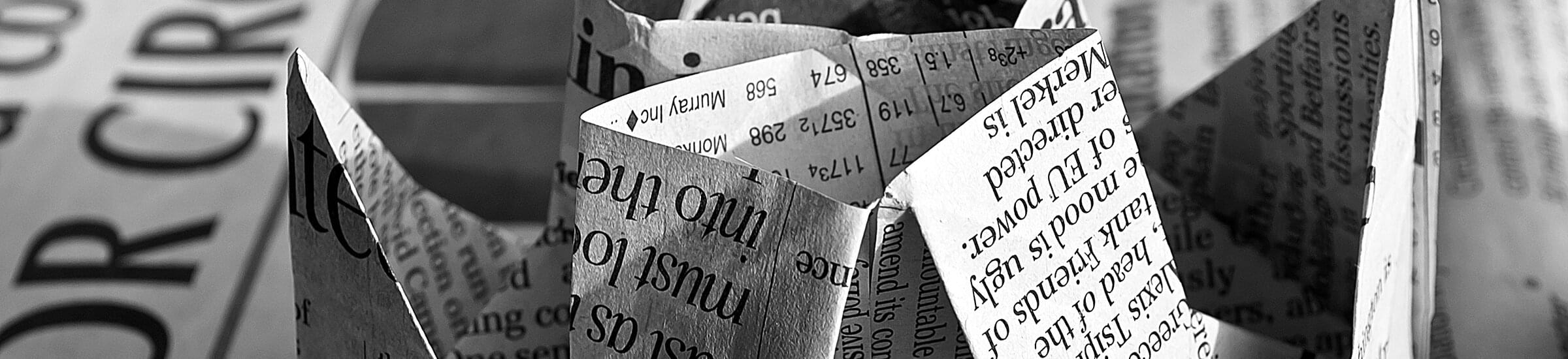 newspaper-origami-40906.jpg | © © Public Domain Pictures